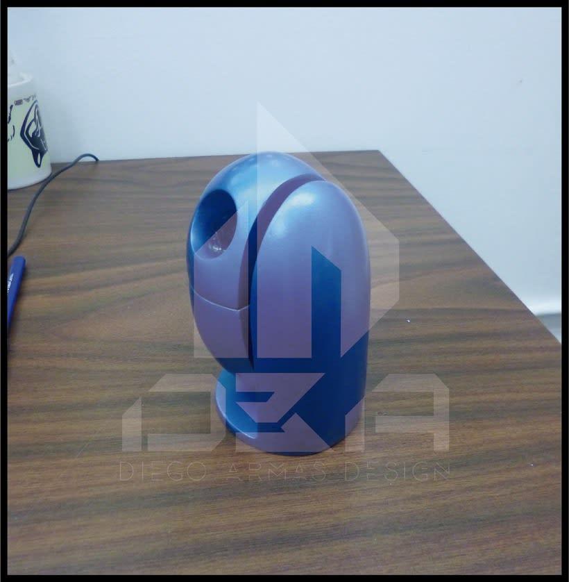 Diseño Industrial Diseño de ECO-Papelera Urbana (PROTO) 2