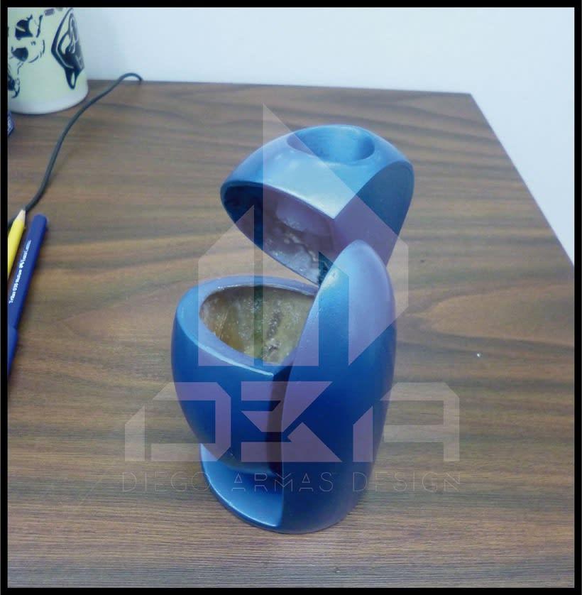 Diseño Industrial Diseño de ECO-Papelera Urbana (PROTO) 3