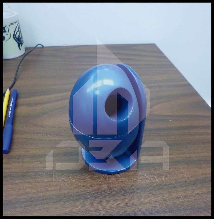 Diseño Industrial Diseño de ECO-Papelera Urbana (PROTO) 4