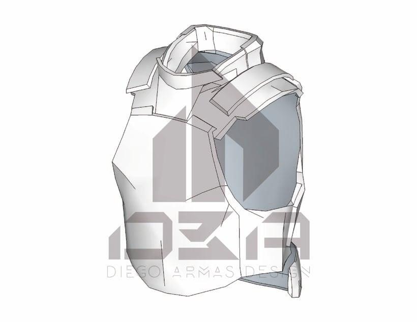 """Chaleco """"T24"""" Prototipo de Chaleco Táctico -1"""
