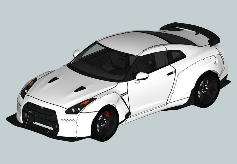 Carros 3D Digitalización y Modelado 2