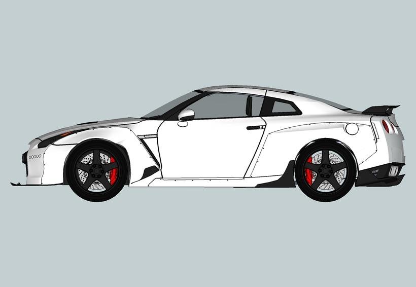Carros 3D Digitalización y Modelado 4