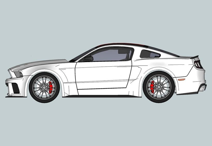Carros 3D Digitalización y Modelado 5