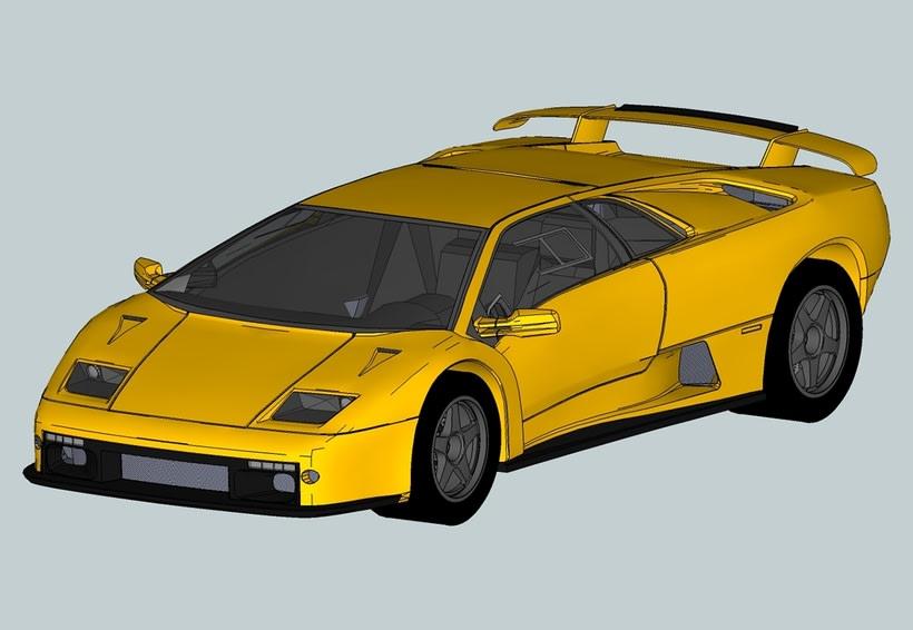 Carros 3D Digitalización y Modelado 6