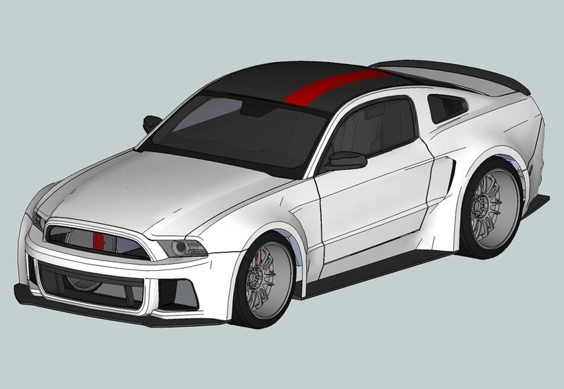 Carros 3D Digitalización y Modelado 7