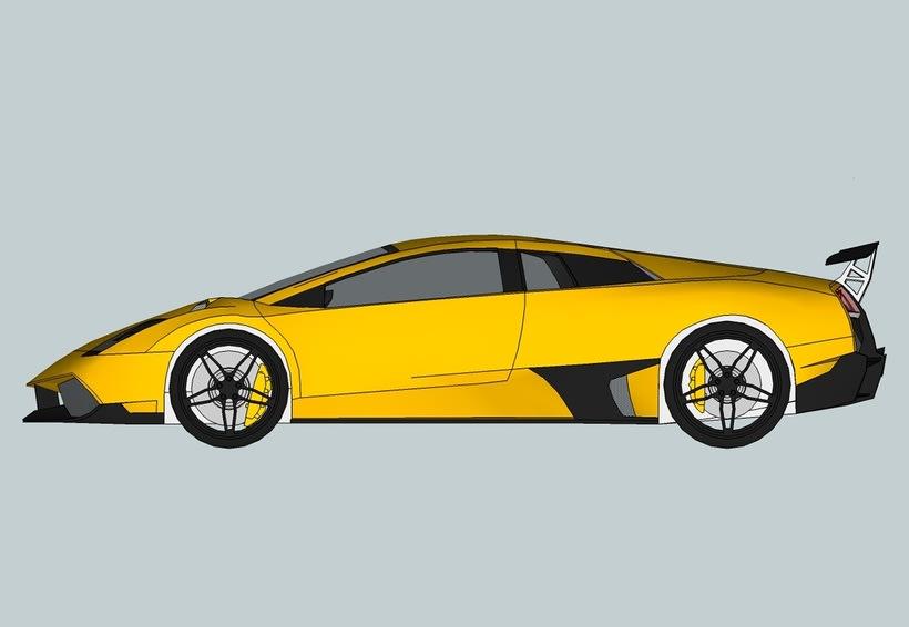 Carros 3D Digitalización y Modelado 8