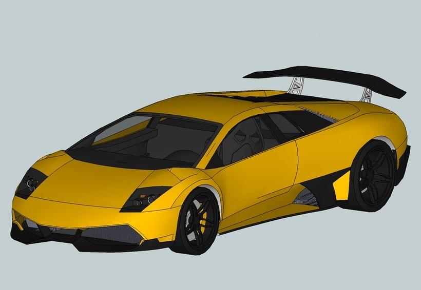 Carros 3D Digitalización y Modelado 9