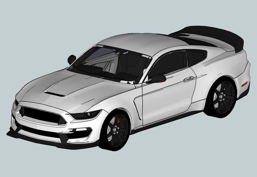 Carros 3D Digitalización y Modelado 10
