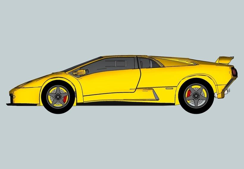 Carros 3D Digitalización y Modelado 11