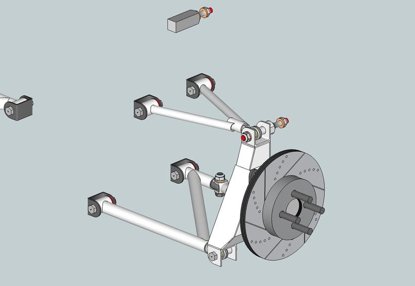 Tren delantero y tren trasero (CAD) 1