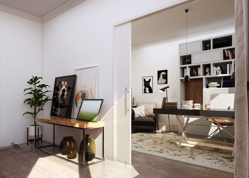 3D Render Arquitectura Interiorismo Padilla_Barcelona 1