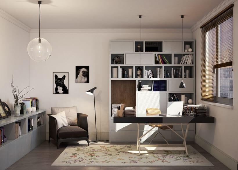 3D Render Arquitectura Interiorismo Padilla_Barcelona 2