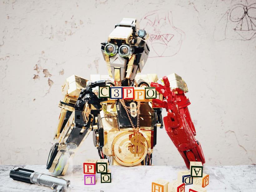 C3PO & Chappie Mashup / ROBOT 0