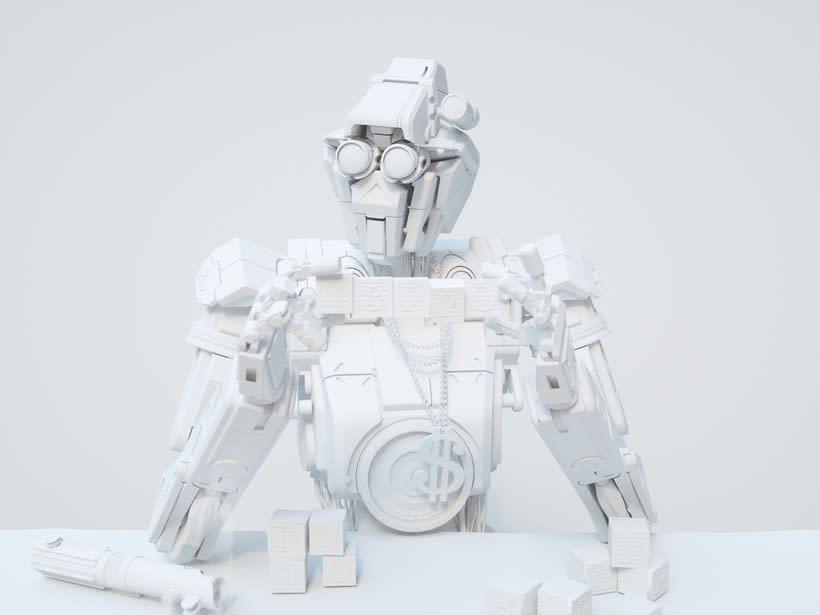 C3PO & Chappie Mashup / ROBOT 2