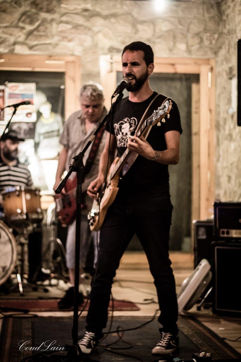 """24/08/2017 Ensayo del grupo de Rock """"The Asstrainers"""" de Gijón, Asturias 3"""