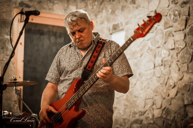 """24/08/2017 Ensayo del grupo de Rock """"The Asstrainers"""" de Gijón, Asturias 8"""