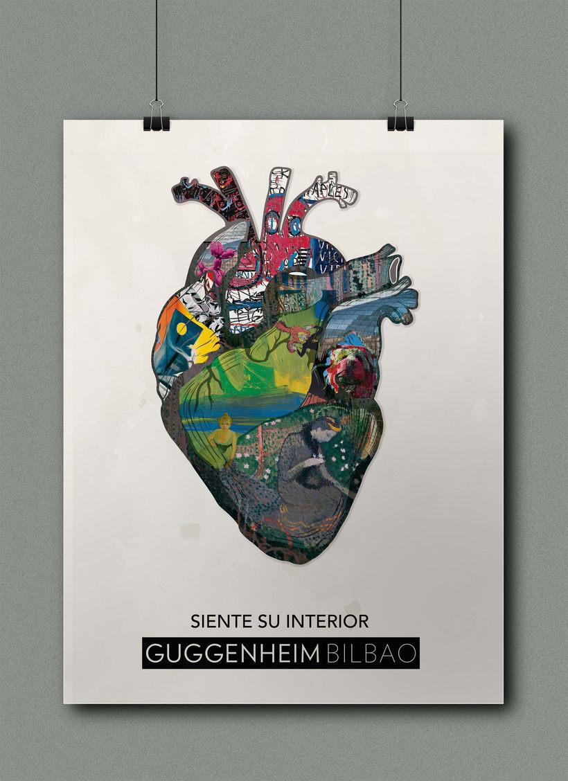Campaña publicitaria museo Guggenheim 1