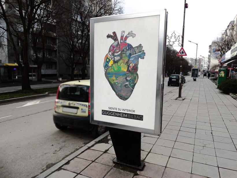 Campaña publicitaria museo Guggenheim 2