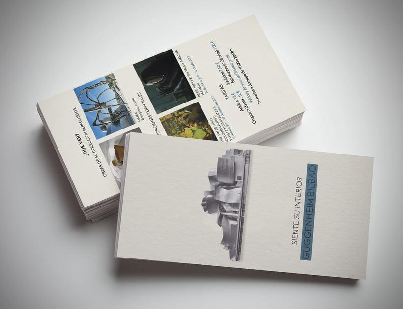 Campaña publicitaria museo Guggenheim 3