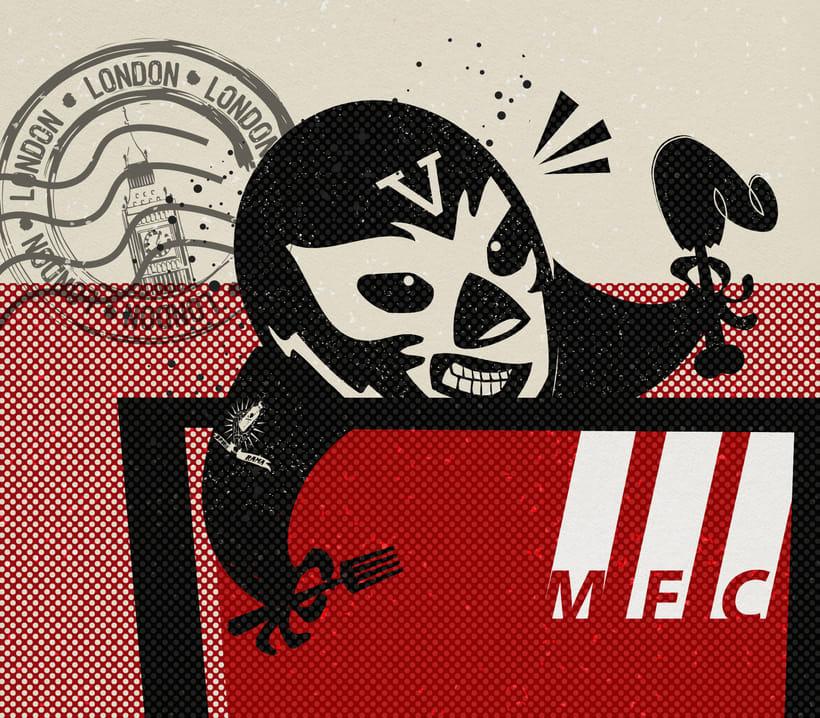 MFC CHICKEN vermut-o-rama poster 1