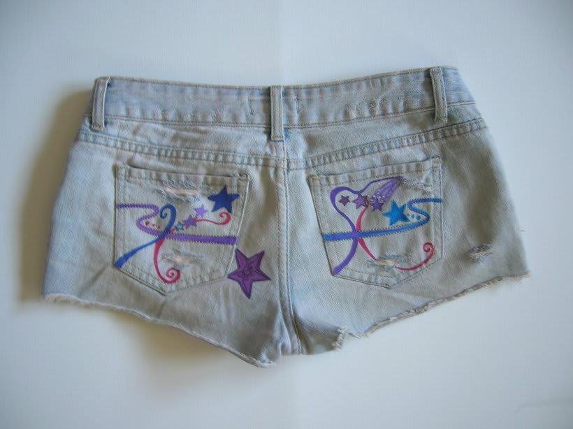 Vestidos,pantalones y faldas pintados a mano 18