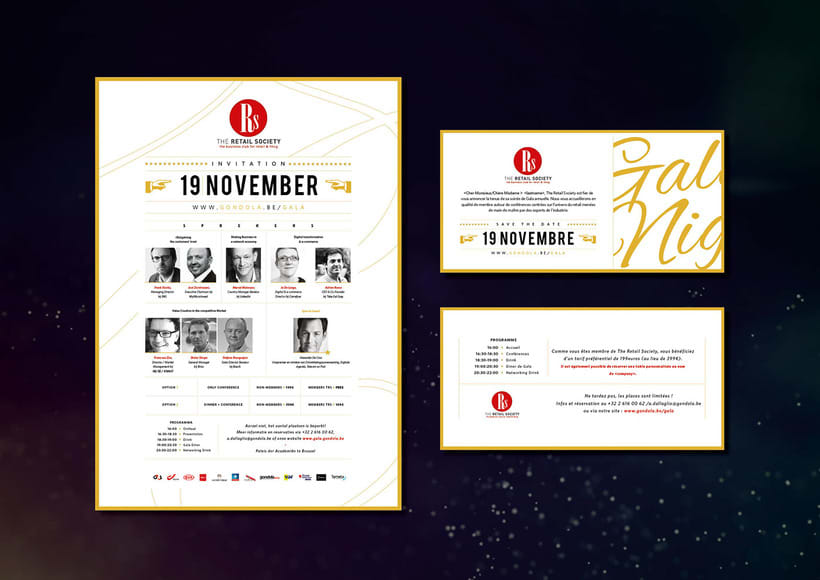 Invitation - Gala event 0