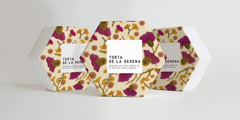Proyecto de estampado para packaging de la torta de la serena 5