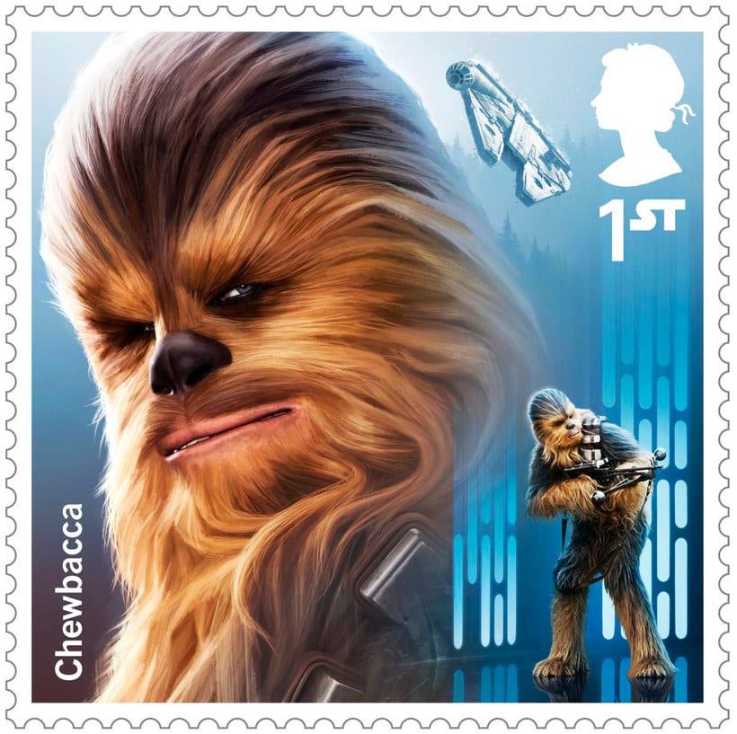 Sellos de Star wars para celebrar el 'Episodio VIII: Los últimos Jedi' 1