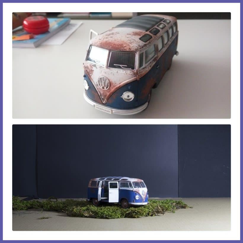 Mi Proyecto del curso: Fotografía creativa en estudio con modelos a escala 2