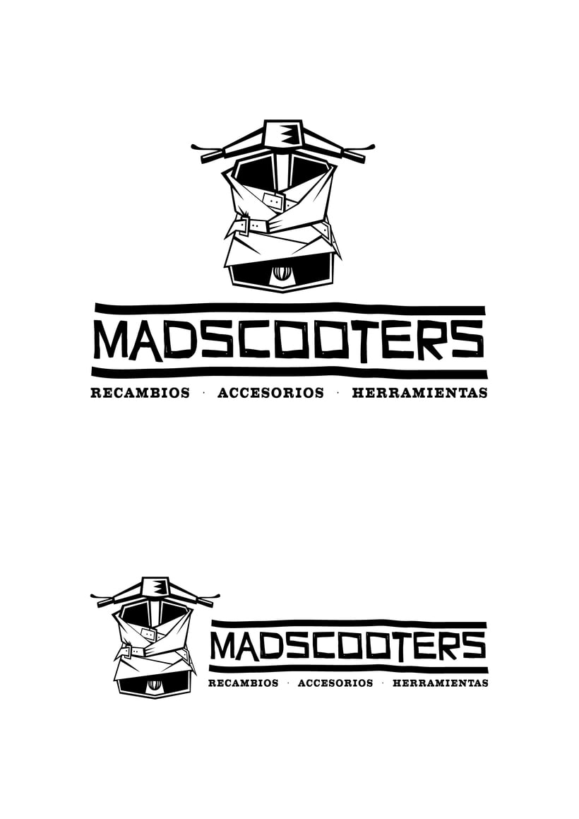 MADSCOOTERS Logotipo 1