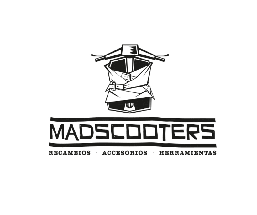 MADSCOOTERS Logotipo 0