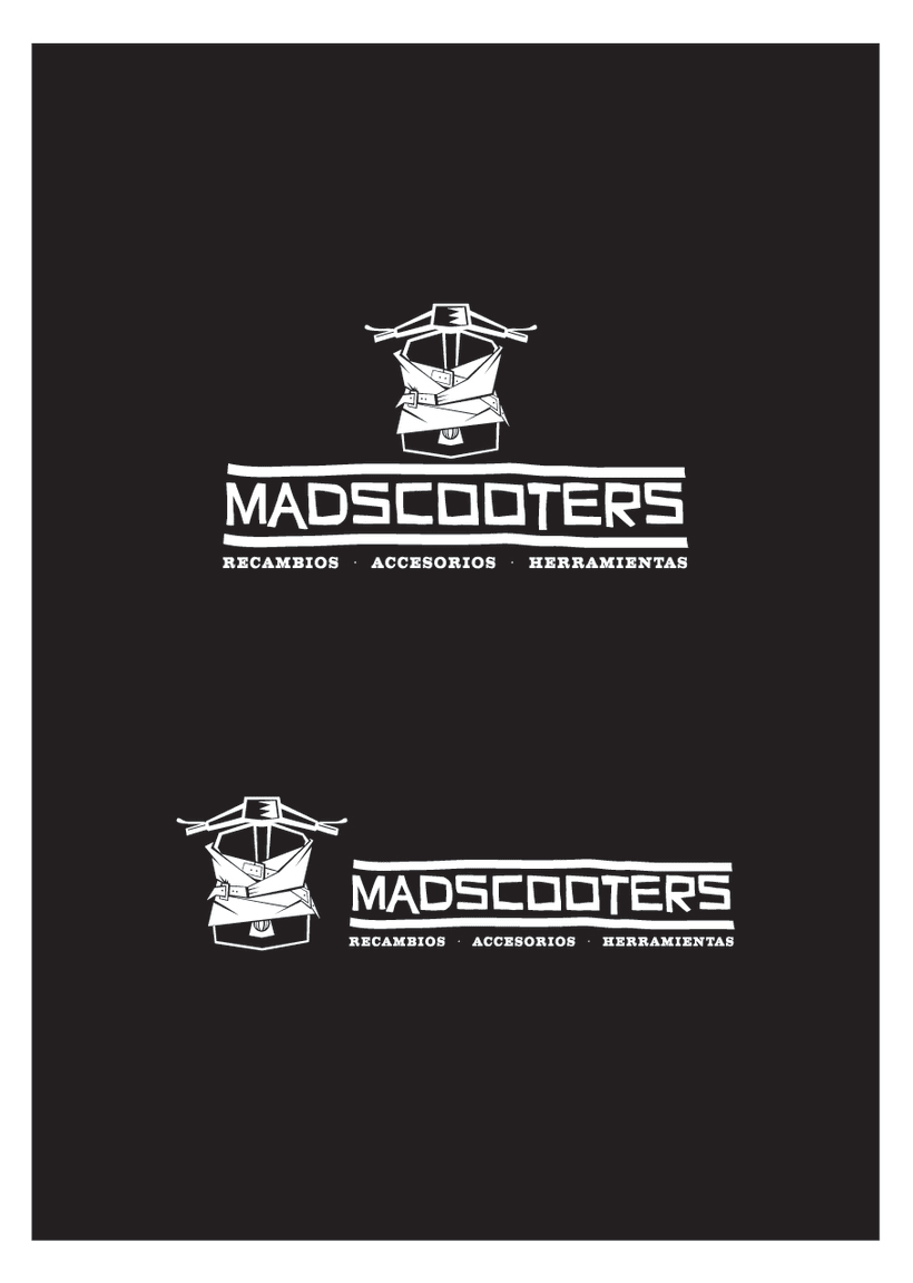 MADSCOOTERS Logotipo 2