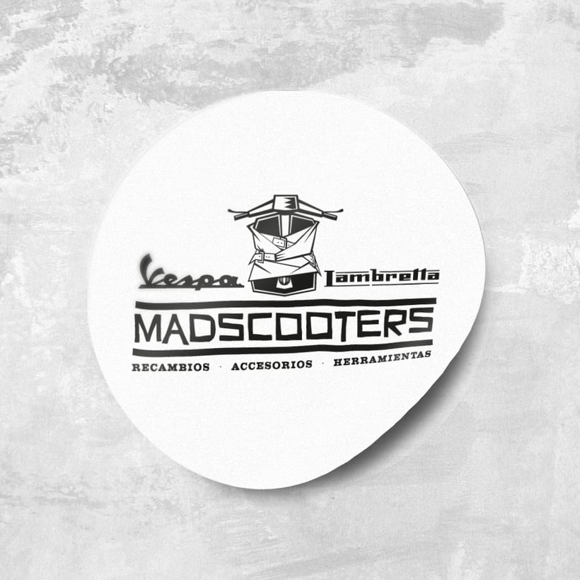 MADSCOOTERS Logotipo 4