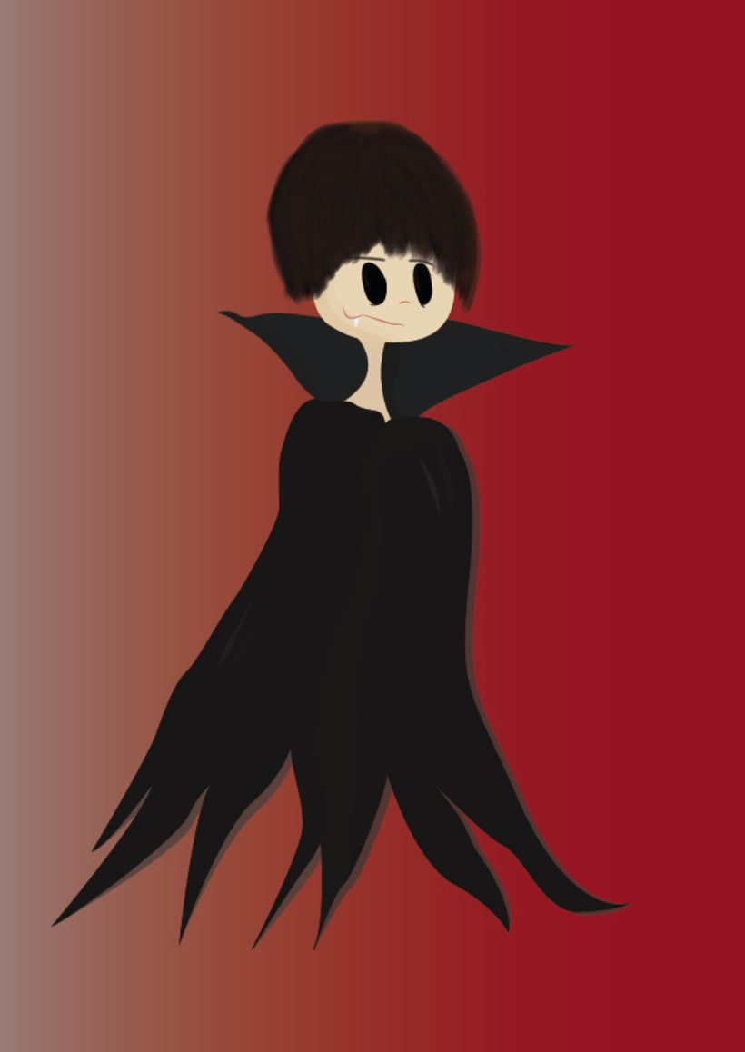Caricatura de Vampiro 1 0