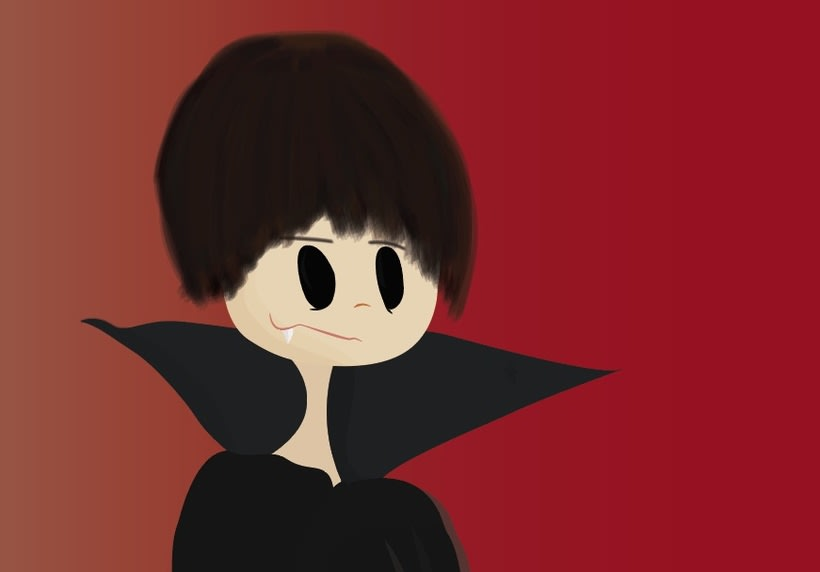 Caricatura de Vampiro 1 1