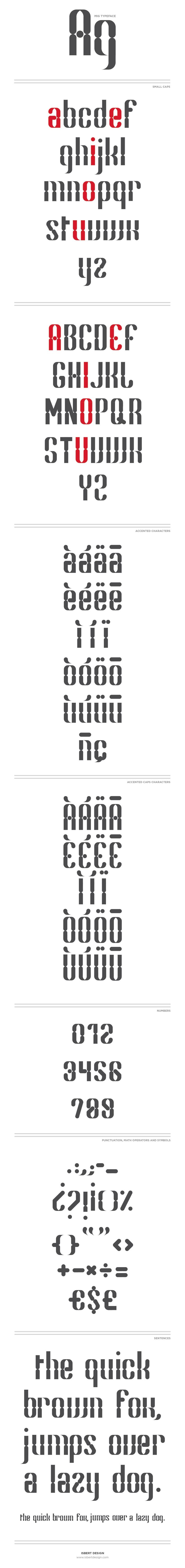 Mig Typeface -1