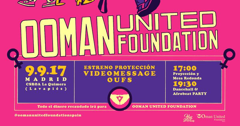Ooman United Foundation Spain - Cartelería 4