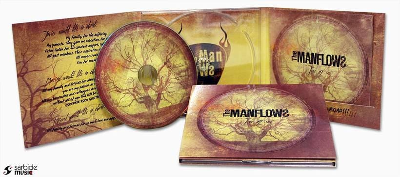 CD Design: The Manflows - Tree Of Us 0