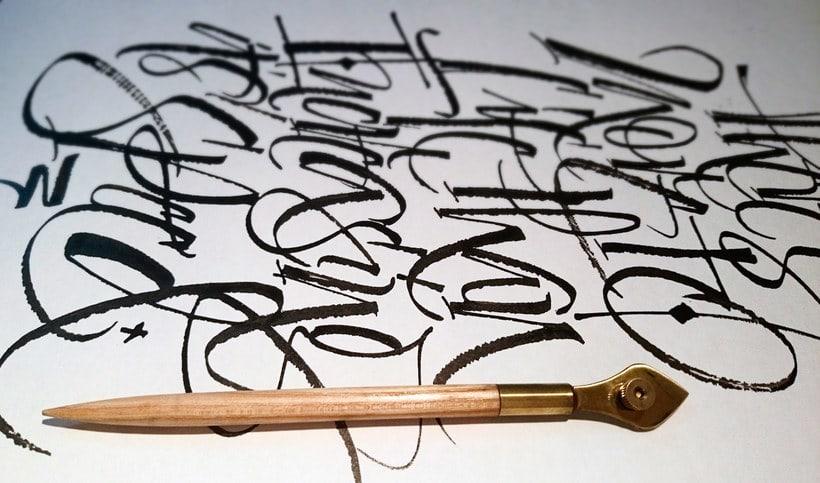 Mister Kams, un romance entre caligrafía y lettering 1