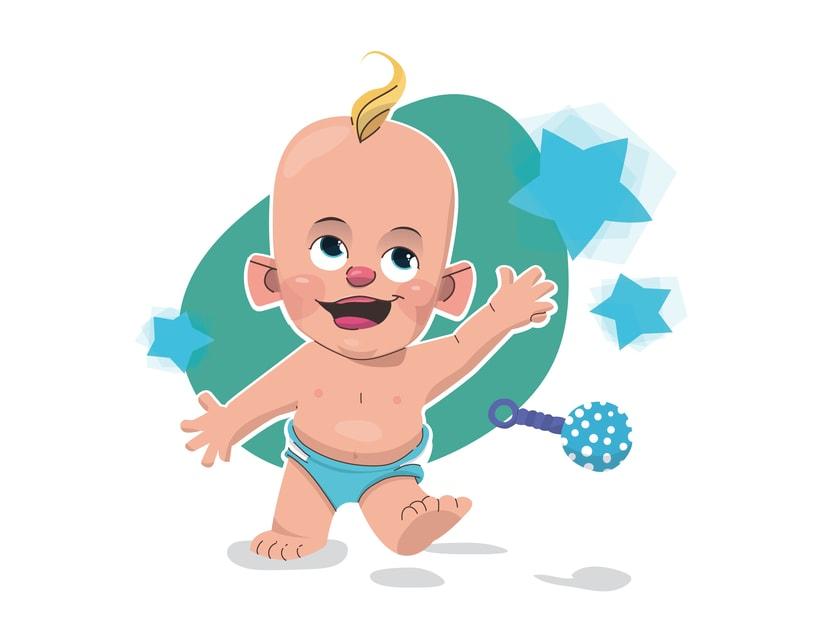 Alcanzando Una Estrella | Ilustración Infantil -1