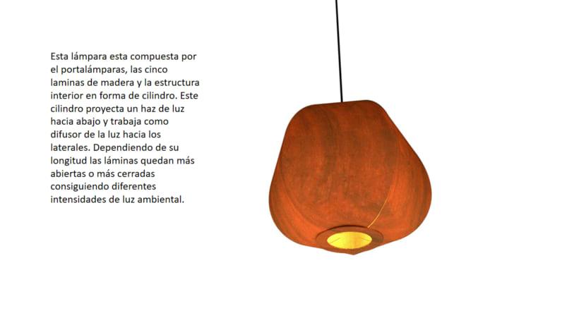 Lámpara Echinus 2