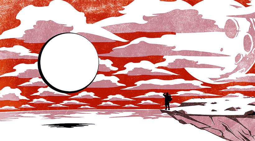 Mi Proyecto del curso: Ilustración original de tu puño y tableta. Canción: Beacon Beach 0