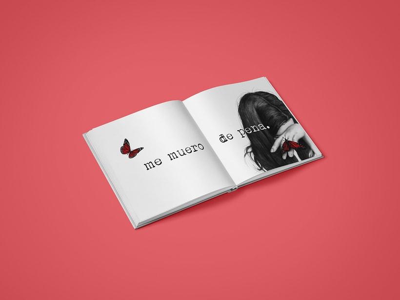 """Ilustraciones para libro """"Me muero de pena"""" de Verónica Antolín.  9"""