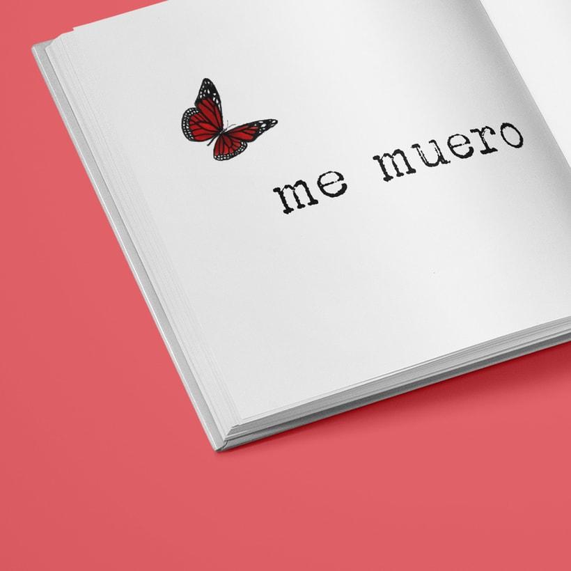 """Ilustraciones para libro """"Me muero de pena"""" de Verónica Antolín.  0"""