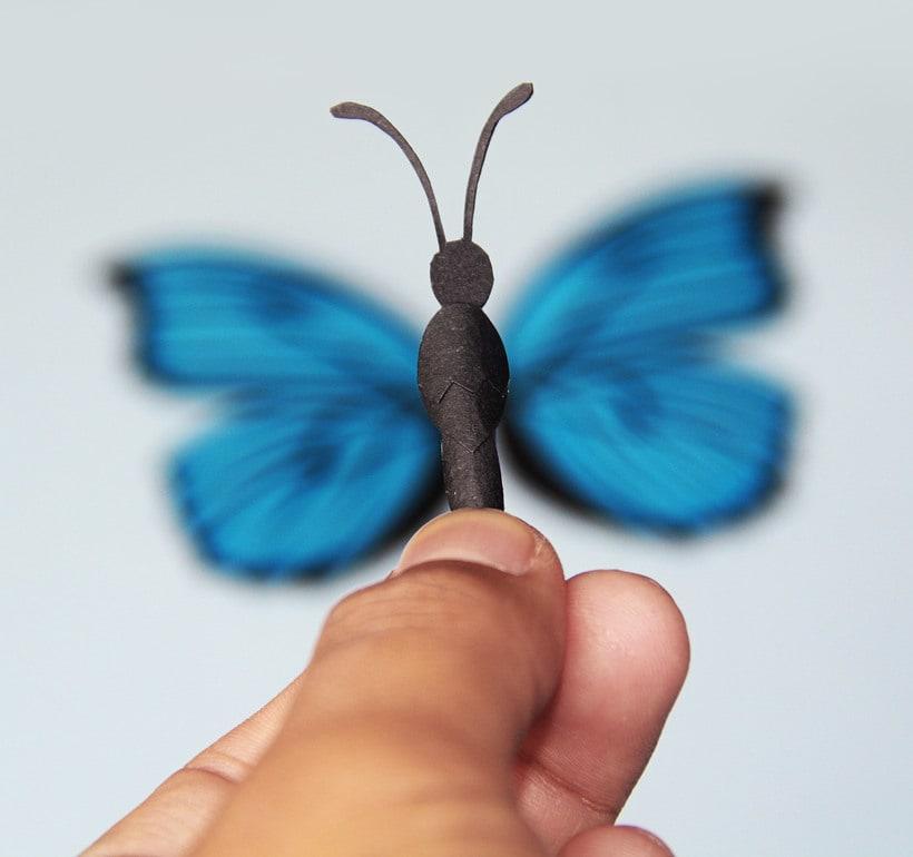 :: Morpho Azul Papercraft :: 1