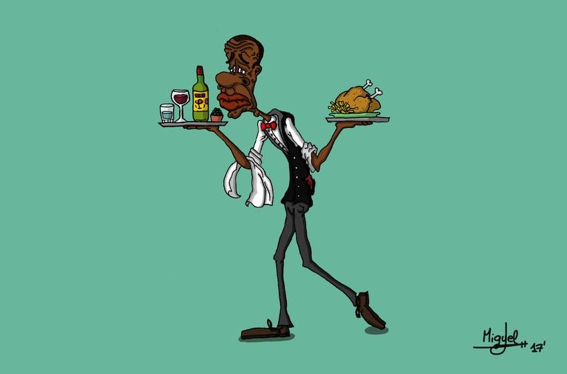 De profesión camarero -1
