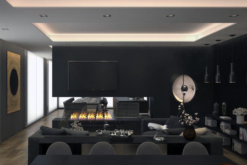 Diseño de salon/comedor   Espacios   Domestika