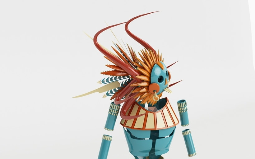 Mi Proyecto del curso: Modelado de personajes en Maya 1
