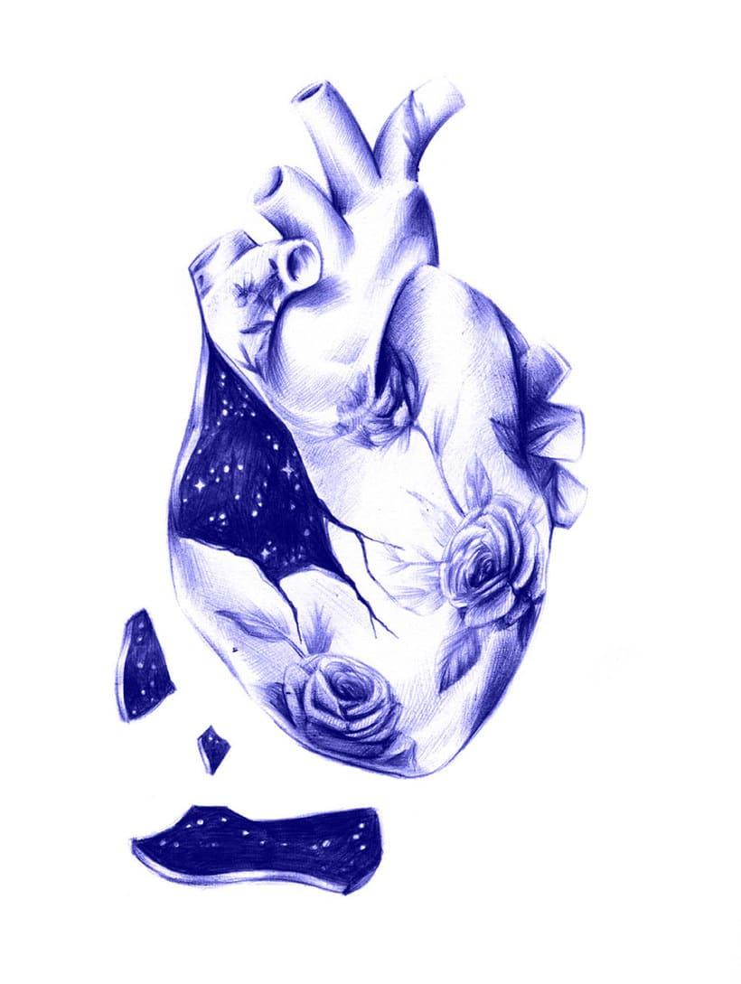 Las ilustraciones de Nuria Riaza se tiñen de azul 5