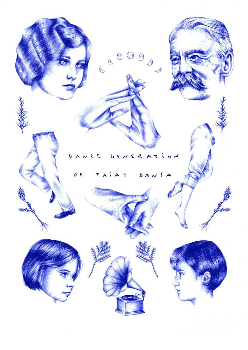 Las ilustraciones de Nuria Riaza se tiñen de azul 6